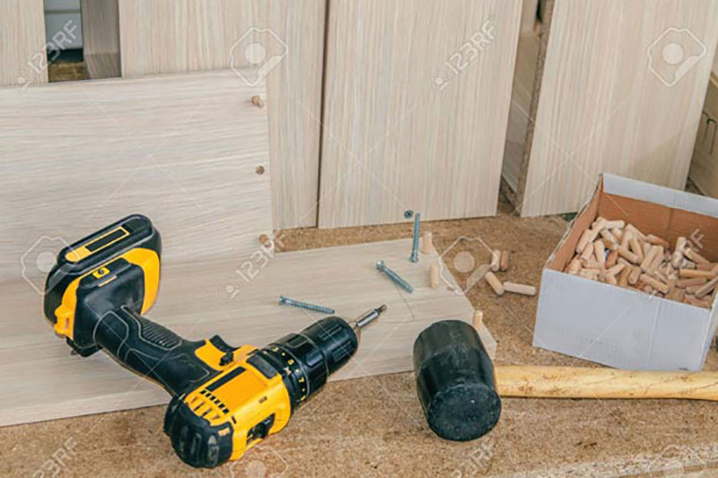 Drill and Hammer Construction