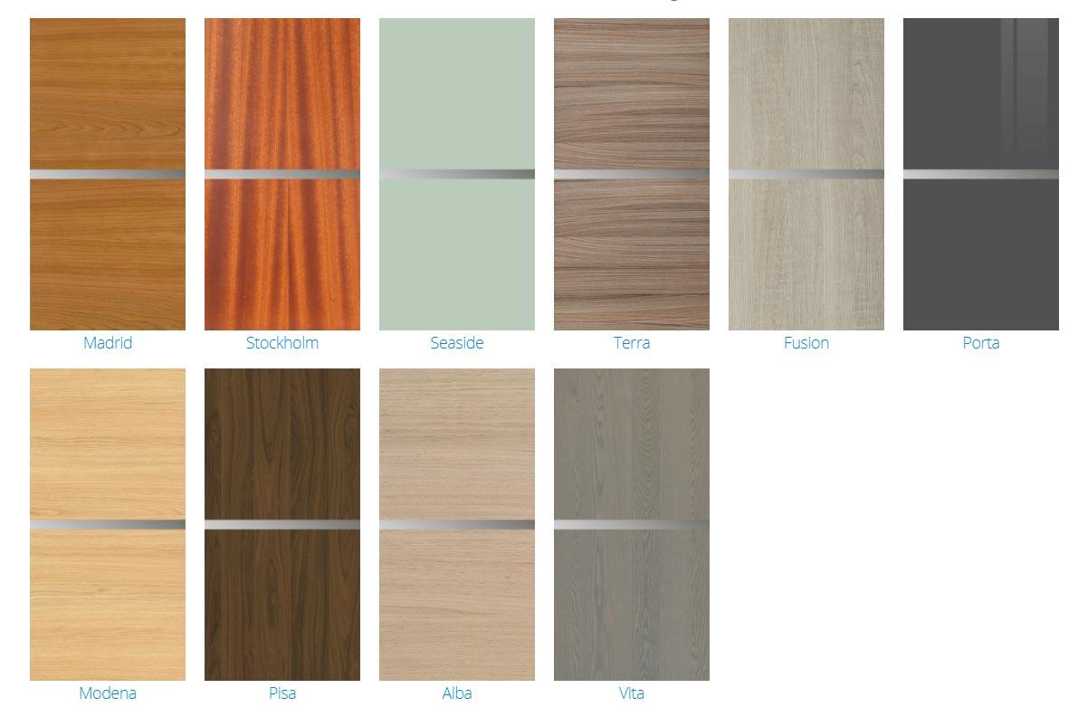 3000 Series Cabinet Door Styles