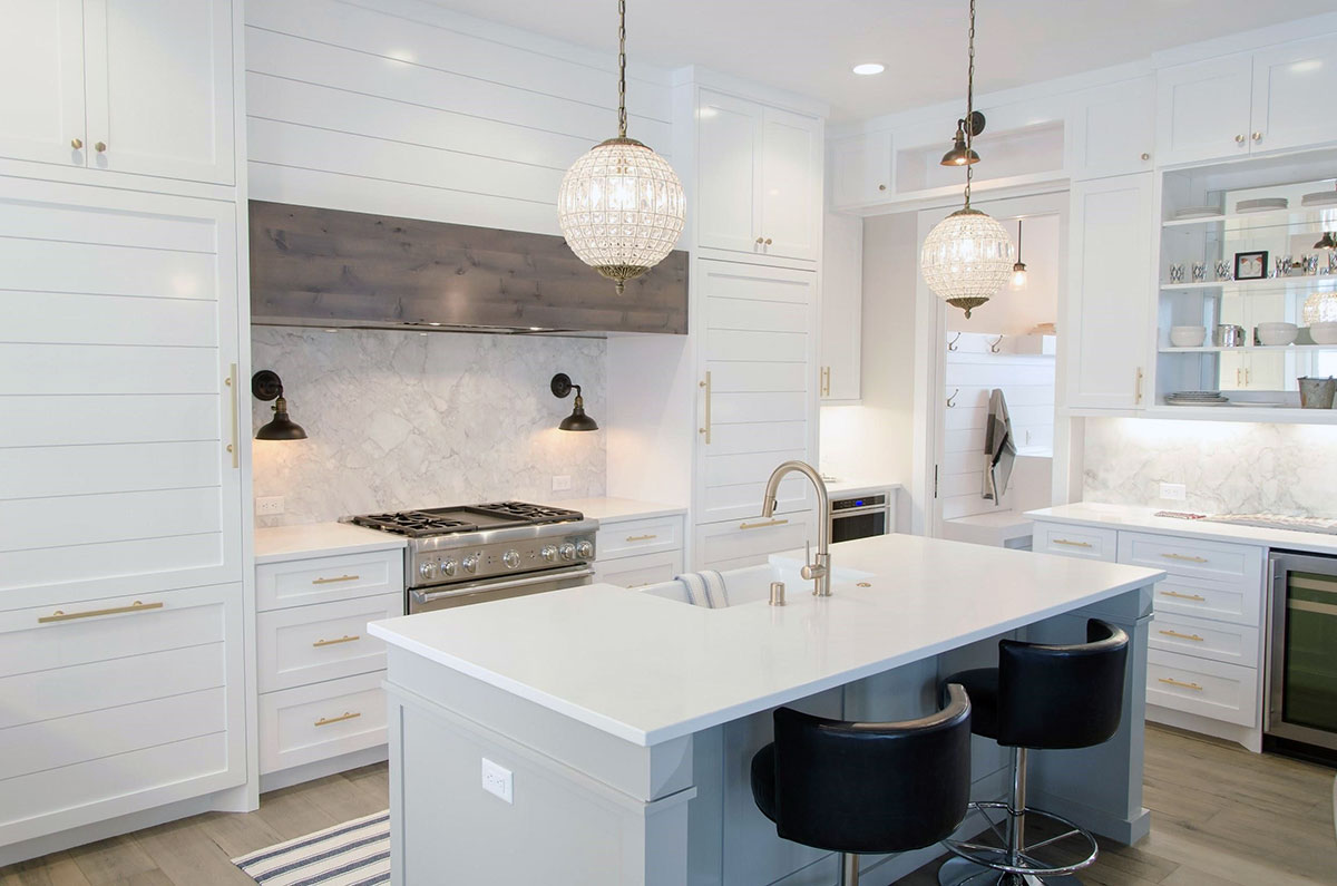 White Kitchen Cabinets - Home Resale Value