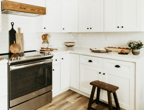 White Kitchen Cabinets: A Modern Farmstyle Look
