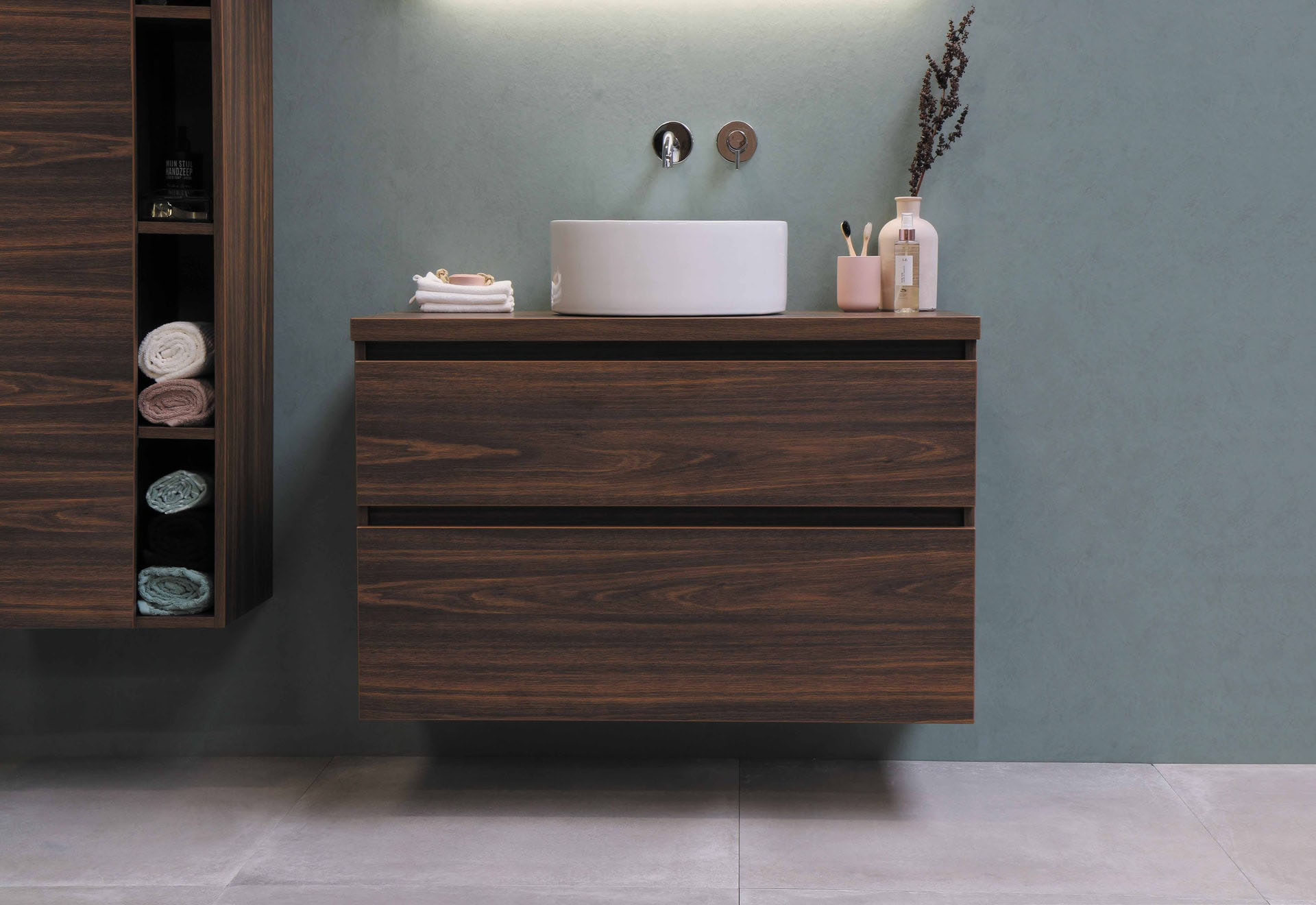 Wooden Bathroom Cabinets